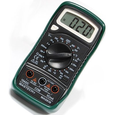 Digital Multimeter MASTECH MAS838