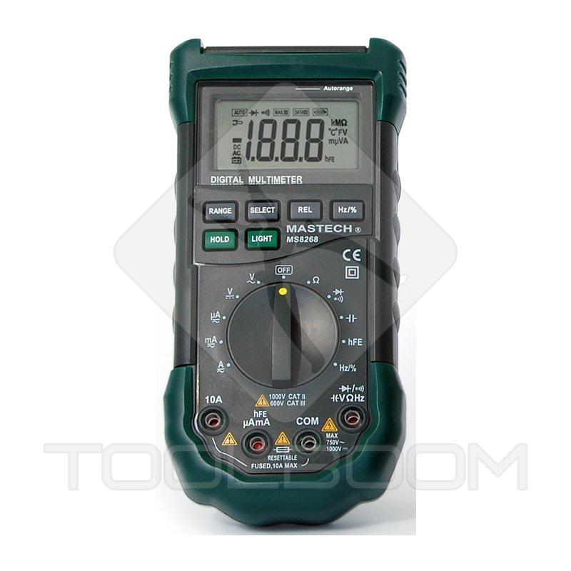 Mastech Ms8268 Digital Multimeter : Digital multimeter mastech ms multimeters