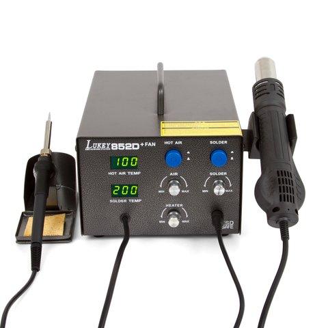 Lukey 852D+FAN hot air soldering station