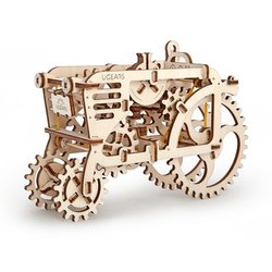 "Rompecabezas mecánico 3D UGEARS ""Tractor"""