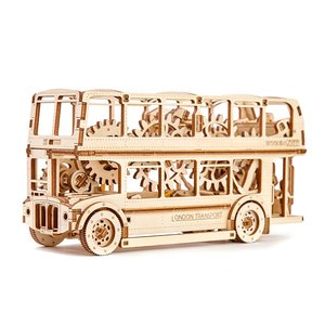 "Rompecabezas mecánico 3D Wooden.City ""London Bus"""